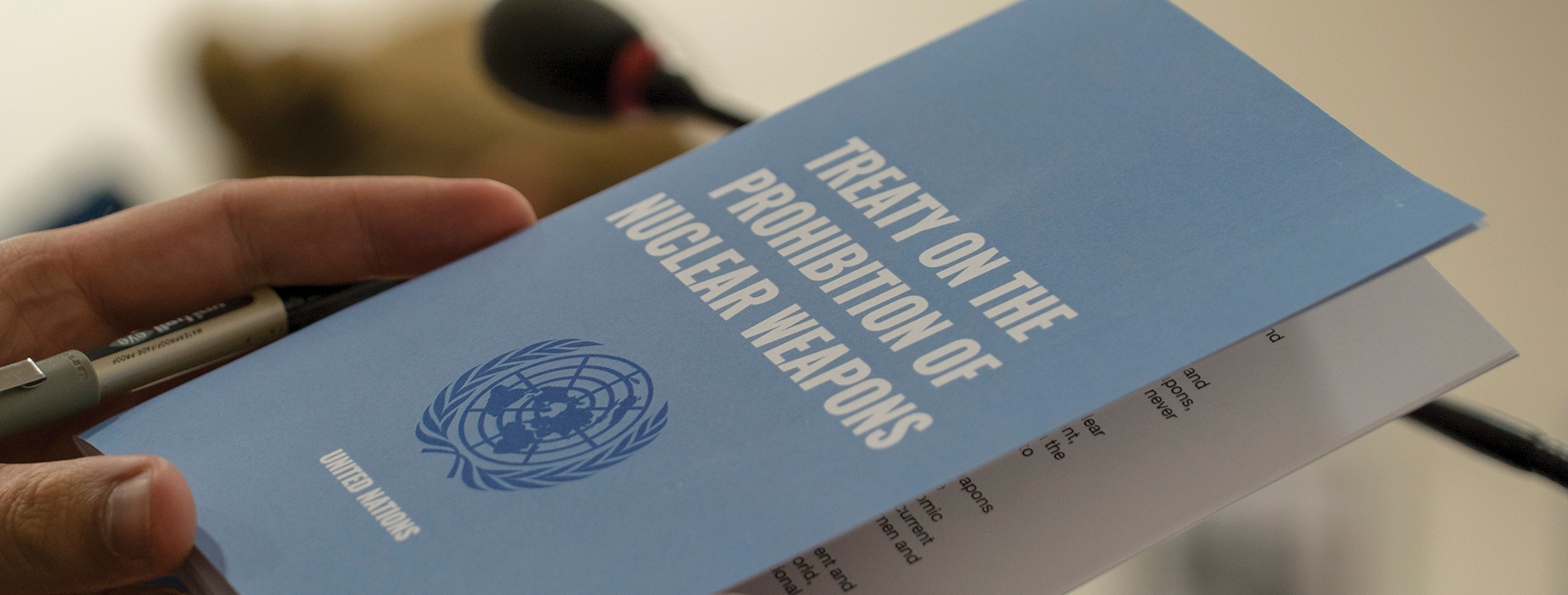 What the Treaty on the Prohibition of Nuclear Weapons means for global  peace & security – Humanitarian Changemakers Network
